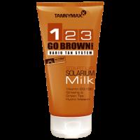 Крем - молочко для загара в солярии GO BROWN MILK 1