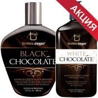 АКЦИЯ: Крем BLACK CHOCOLATE + Закрепитель молочко WHITE CHOCOLATE
